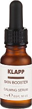 Profumi e cosmetici Siero viso lenitivo - Klapp Skin Booster Calming Serum