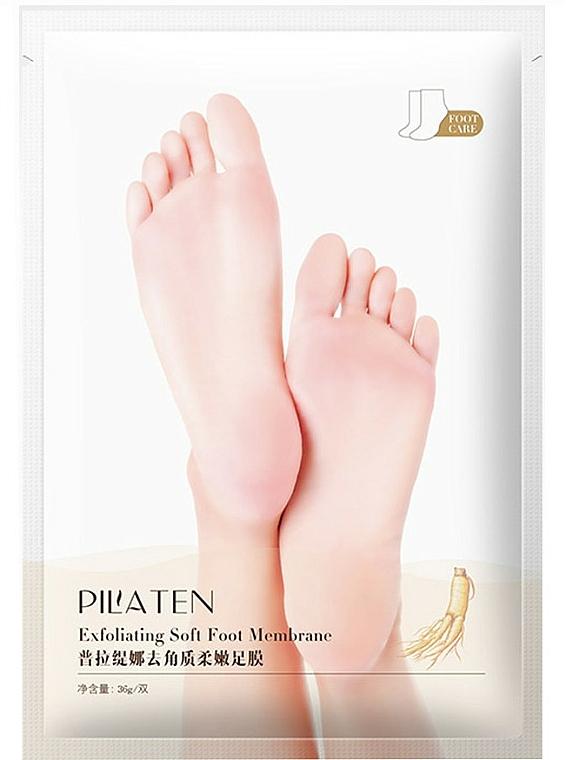 Maschera esfoliante per piedi - Pilaten Exfoliating Soft Foot