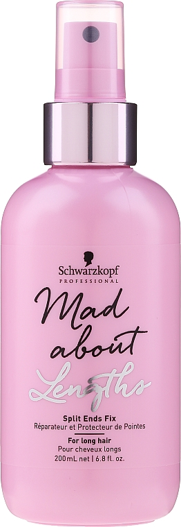 Spray per punte secche e doppie punte - Schwarzkopf Professional Mad About Lengths Split Ends Fix — foto N1