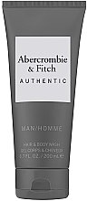 Profumi e cosmetici Gel doccia - Abercrombie & Fitch Authentic Men Hair&Body Wash