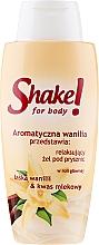 """Profumi e cosmetici Gel doccia """"Vaniglia"""" - Shake for Body Shower Gel Vanilla"""