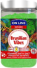 Profumi e cosmetici Sale da bagno - On Line Senses Bath Salt Brasilian Vibes