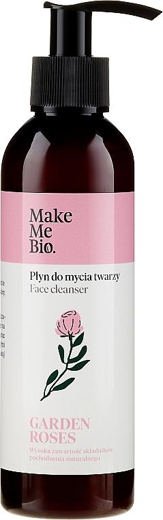"Detergente viso ""Rosa"" - Make Me Bio Garden Roses Face Cleanser — foto N1"