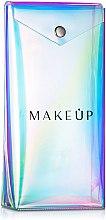 Profumi e cosmetici Custodia per pennelli, trasparente , «Holographic», 20x10x4 cm - MakeUp