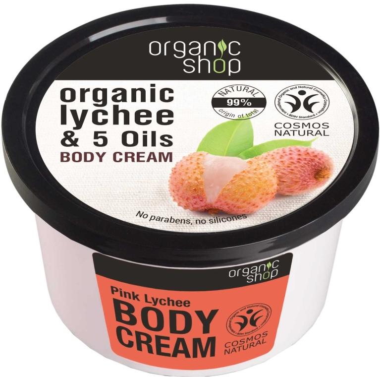 Crema corpo - Organic Shop Body Cream Organic Lichee & Oils