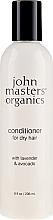 """Profumi e cosmetici Balsamo per capelli secchi """"Lavanda e Avocado"""" - John Masters Organics Conditioner For Dry Hair Lavender & Avocado"""