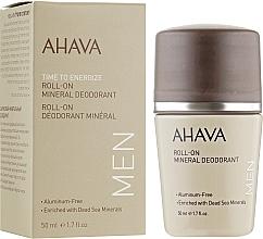 Profumi e cosmetici Deodorante roll-on con minerali marini, uomo - Ahava Time To Energize Magnesium Rich Deodorant Roll-On