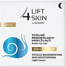 Profumi e cosmetici Crema intensamente idratante e levigante da notte - Lift4Skin Snail C+ Night Cream