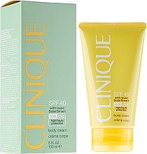 Profumi e cosmetici Crema solare SPF40 - Clinique Body Cream