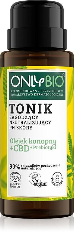 Tonico calmante e neutralizzante il pH della pelle - Only Bio