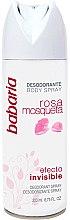 Profumi e cosmetici Deodorante-spray - Babaria Rose Hip Invisible Effect Deodorant Spray