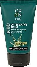 Profumi e cosmetici Balsamo dopobarba - GRN Gentlemen's Organic Hemp & Hop After-Shave Balm