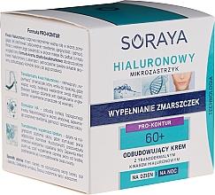 Profumi e cosmetici Crema rigenerante giorno/notte - Soraya Hialuronowy Mikrozastrzyk Restorative Cream 60+
