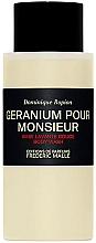 Profumi e cosmetici Frederic Malle Geranium Pour Monsieur - Bagnoschiuma