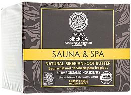 """Profumi e cosmetici Burro naturale siberiano per piedi """"Sauna & Spa"""" - Natura Siberica"""