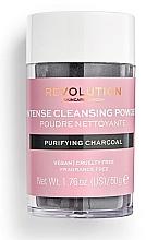 Profumi e cosmetici Polvere detergente per viso - Revolution Skincare Purifying Charcoal Cleansing Powder