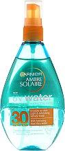 Spray solare per corpo - Garnier Ambre Solaire UV Water Clear Sun Spray — foto N1