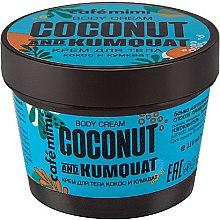 """Profumi e cosmetici Crema corpo """"Cocco e Kumquat"""" - Cafe Mimi Body Cream Coconut And Kumquat"""