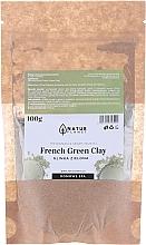 Profumi e cosmetici Maschera viso - Natur Planet French Green Clay