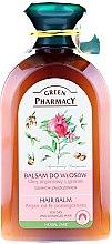 """Profumi e cosmetici Balsamo per capelli secchi e danneggiati """"Olio di argan e melograno"""" - Green Pharmacy"""