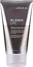 Profumi e cosmetici Maschera per capelli biondi - Joico Blonde Life Brightening Mask