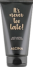 Profumi e cosmetici Mousse corpo antietà - Alcina It's Never Too Late Anti-Aging Body Mousse