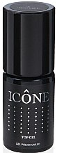 Profumi e cosmetici Top coat per unghie - Icone Gel Polish UV/LED Top Gel