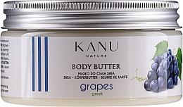 "Profumi e cosmetici Burro corpo ""Uva greca"" - Kanu Nature Greek Grape Body Butter"