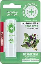 Profumi e cosmetici Balsamo labbra alle erbe - Domashniy Doktor