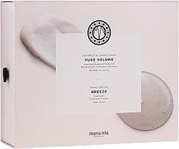 Profumi e cosmetici Set - Maria Nila Pure Volume Presentbox (sh/350ml+cond/300ml+h/soap/300ml)