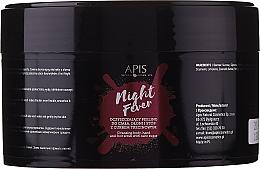 Profumi e cosmetici Peeling detergente corpo e mani - Apis Professional Night Fever Peelling For Body, Hand And Foot