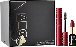 Profumi e cosmetici Set - Nars Studio 54 Set (mascara/6ml + lipstick/1.6g)