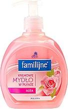 Profumi e cosmetici Sapone liquido - Pollena Savona Familijny Rose Creamy Liquid Soap