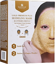 Profumi e cosmetici Maschera viso - Shangpree Gold Premium Modeling Mask