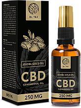 Profumi e cosmetici Olio di jojoba naturale CBD 250mg - Dr. T&J Bio Oil
