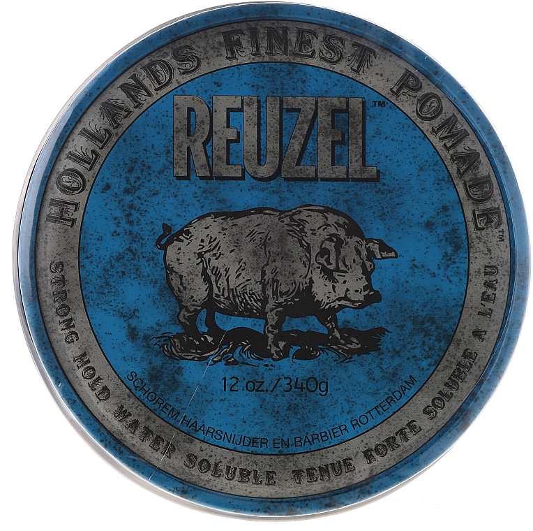 Pomata per capelli - Reuzel Blue Strong Hold Water Soluble High Sheen Pomade
