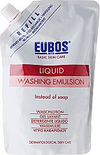 Profumi e cosmetici Emulsione detergente corpo - Eubos Med Basic Skin Care Liquid Washing Emulsion Red (ricarica)