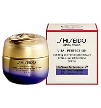 Profumi e cosmetici Crema antietà SPF 30 - Shiseido Vital Perfection Uplifting and Firming Day Cream SPF 30