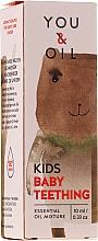 Profumi e cosmetici Miscela di oli essenziali per bambini - You & Oil KI Kids-Baby Teething Essential Oil Mixture For Kids