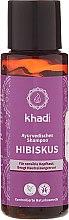 "Profumi e cosmetici Shampoo ayurvedico ""Hibiscus"" - Khadi Hibiscus Shampoo"
