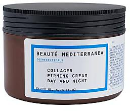 Profumi e cosmetici Crema rassodante collagene - Beaute Mediterranea Collagen Firming Cream Day & Night