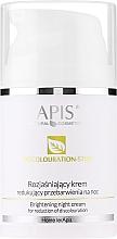 Profumi e cosmetici Crema viso, da notte - APIS Professional Home TerApis Brightening Night Cream