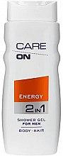 Profumi e cosmetici Gel doccia 2in1 - Care On Energy Gel Shower