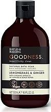 Profumi e cosmetici Bagnoschiuma - Baylis & Harding Goodness Lemongrass & Ginger Natural Bath Soak