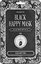 Profumi e cosmetici Maschera viso purificante - Kocostar Black Happy Mask