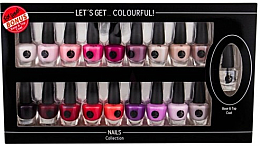 Profumi e cosmetici Set - Cosmetic 2K Let'S Get Colourful! (nail/laquer/19x3,5ml)