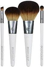 Profumi e cosmetici Set pennelli trucco, 4 pezzi. - EcoTools On-The Go Style