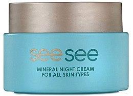 Profumi e cosmetici Crema minerale del Mar Morto, da notte - See See Mineral Night Cream