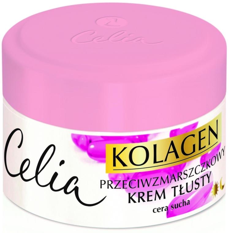 Crema viso per la pelle secca - Celia Collagen Cream