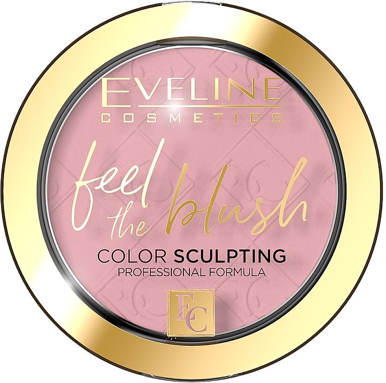 Blush - Eveline Cosmetics Feel The Blush